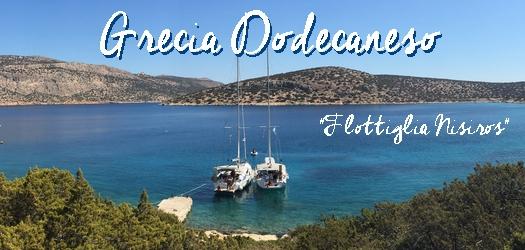 Flottiglia Nisiros in Grecia Dodecaneso dal 5 al 19 agosto
