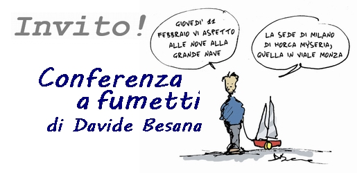 (Italiano) Stasera alla Grande Nave: Davide Besana e i suoi fumetti!!