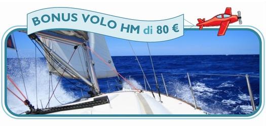 (Italiano) Con il BONUS Volo HM salpi subito per le vacanze…