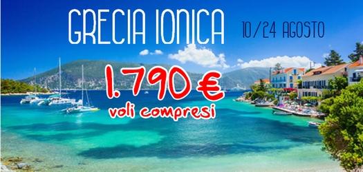 Grecia Ionica in Flottiglia dal 10 al 24 Agosto