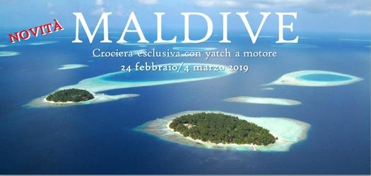 <em>Novità!</em> 24 Feb/4 Mar 2019 Crociera esclusiva alle Maldive!