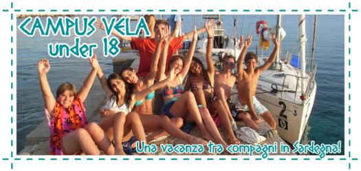 (Italiano) L'estate con i Campus vela Under 18 in Sardegna!