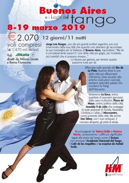 Volantino Argentina Tango 2019